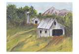 Country Road 1 Poster av Beverly Dyer
