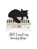 Beauty Sleep Premium Giclee-trykk av Bella Dos Santos