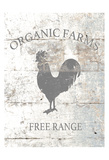 Organic Farm Affiches par Victoria Brown