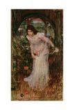 The Lady of Shalott, C.1894 Reproduction procédé giclée par John William Waterhouse