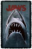 Jaws - Shark Woven Throw Throw Blanket