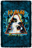 Def Leppard - Hysteria Cover Woven Throw Throw Blanket