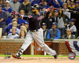 Carlos Santana Home Run Game 4 of the 2016 World Series Photo