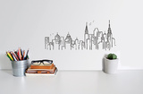 Skyline von New York Wandtattoo