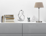 The cat / Le chat Autocollant mural