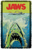 Jaws - Attack Woven Throw Throw Blanket