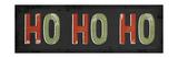 Ho Ho Ho Christmas Prints by Jennifer Pugh