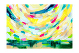 Colorful Uprising III Kunstdrucke von Linda Woods