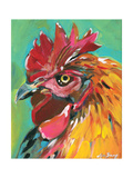 Rooster Prints by Anne Seay