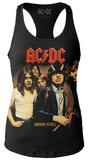 Juniors Tank Top: AC/DC- Highway To Hell Cover Damen-Trägerhemden