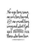 1 Corinthians Prints by Tara Moss