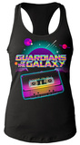 Juniors Tank Top: Guardians Of The Galaxy- Awesome Mix Tape Regatas femininas