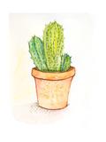 Cactus II Premium Giclee Print by Anne Seay