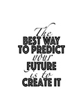 Predict Your Future Poster por Tara Moss