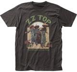 ZZ Top- El Loco Distreesed Album Art T-Shirts