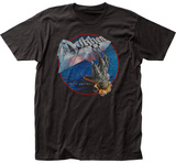 Dokken- Tooth And Nail Album Portal Button T-Shirt