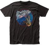 Dokken- Tooth And Nail Album Portal Button Camisetas