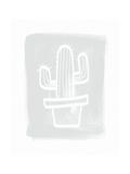 Cactus II Kunst von Linda Woods