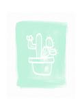 Cactus I Posters par Linda Woods
