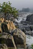 The Potomac River at Great Falls Fotografisk tryk af Tyrone Turner