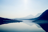 Saint Mary Lake and Wild Goose Island at Glacier National Park in the Morning Photographic Print by Ben Horton