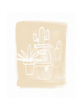 Cactus IV Kunstdrucke von Linda Woods