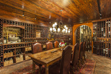 The Wine Cellar in the Antrim 1844, a Restored Plantation House in Maryland Lámina fotográfica por Nowitz, Richard