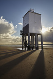 A Historic, Mid-19th Century, Wooden Lighthouse, on the Beach at Burnham-On-Sea Photographic Print by Nigel Hicks