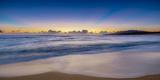 Sunrise Above Kawa'Aloa Bay on Molokai's North Shore Fotografisk trykk av Richard A. Cooke
