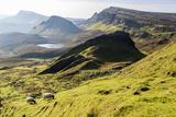The Quiraing Walk on the Isle of Skye in Scotland Impressão fotográfica por Jonathan Irish