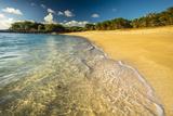Kaupoa Bay Shoreline on Molokai's West End Fotografisk trykk av Richard A. Cooke