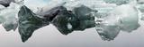 Icebergs in Jokulsarlon Glacier Lagoon Fotoprint av Raul Touzon