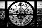 Giant Clock Window - View of Central Park II Impressão fotográfica por Philippe Hugonnard