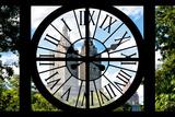 Giant Clock Window - View on Central Park West - San Remo Impressão fotográfica por Philippe Hugonnard