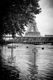 Paris sur Seine Collection - Eiffel Bridge VIII Lámina fotográfica por Philippe Hugonnard