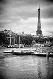 Paris sur Seine Collection - Bateaux Mouches VI Fotografisk tryk af Philippe Hugonnard