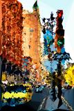 Low Poly New York Art - New York Traffic Prints by Philippe Hugonnard