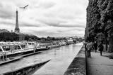 Paris sur Seine Collection - Banks of the Seine Fotografisk tryk af Philippe Hugonnard