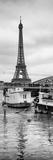Paris sur Seine Collection - Floating Barge IV Stampa fotografica di Philippe Hugonnard