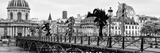 Paris sur Seine Collection - Pont des Arts VI Reproduction photographique par Philippe Hugonnard