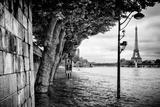 Paris sur Seine Collection - Banks of the Seine River Lámina fotográfica por Philippe Hugonnard