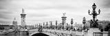 Paris sur Seine Collection - Alexandre III Bridge VI Lámina fotográfica por Philippe Hugonnard