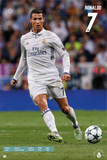 Real Madrid- Ronaldo 16/17 Kunstdruck