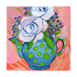 Flower in Pot Print by Anne Seay