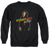 Crewneck Sweatshirt: AC/DC- Powerage Shockage T-shirts