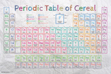 Periodic Table of Cereal Posters