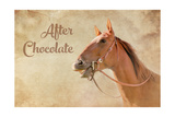 After Chocolate Prints by Romona Murdock