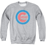 Crewneck Sweatshirt: Cheap Trick- Distressed Logo Button Shirts