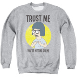 Crewneck Sweatshirt: Bobs Burgers- Trust Lisa T-shirts