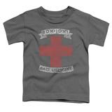 Toddler: Bon Jovi- Distressed Bad Medicine Cross T-shirts